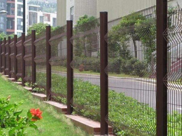Clare-view PVC Perimeter Mesh Fence