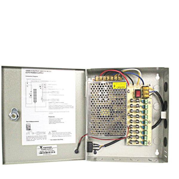 12VDC 9Channel Power Supply