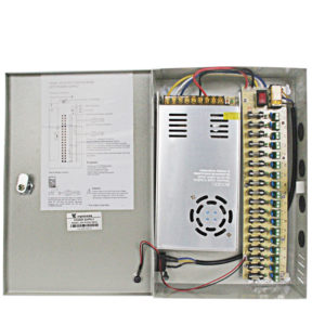 18 channel 12vdc power supply